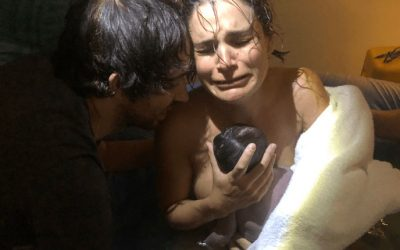 Home Water Birth with Posterior Baby