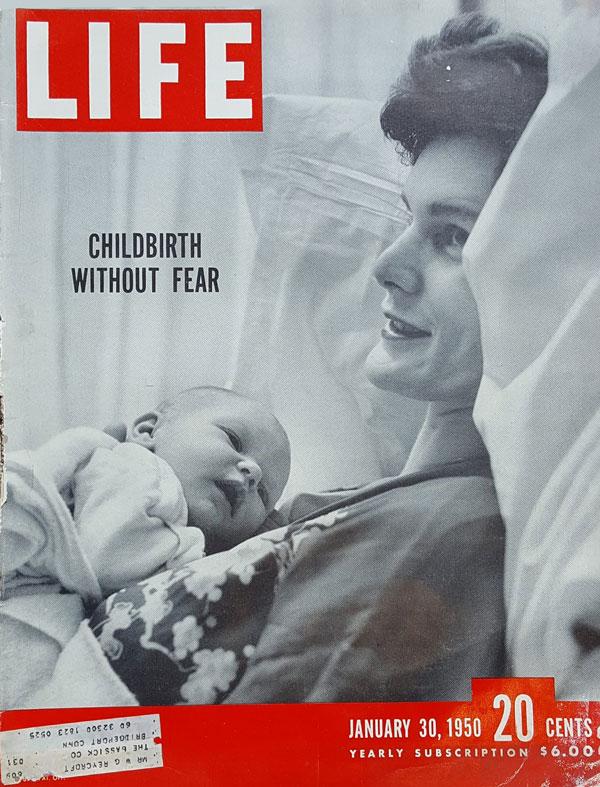 Life Magazine Marie Mongan HypnoBirthing