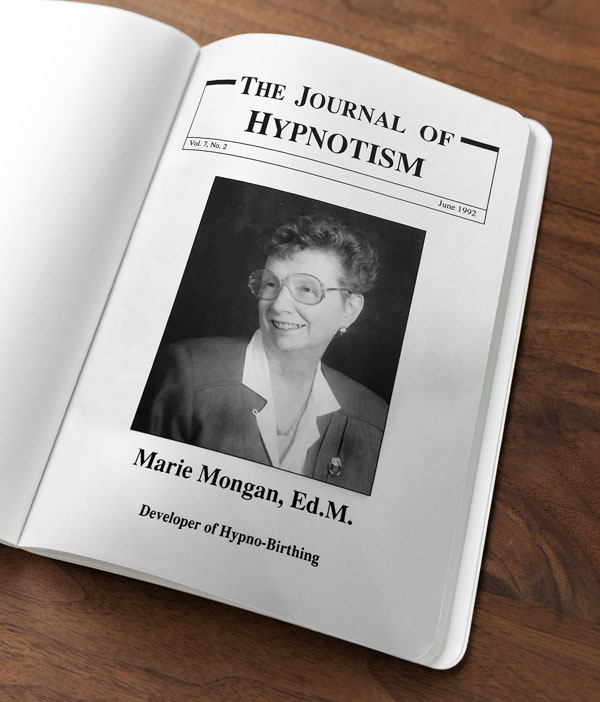 Marie Mongan, Ed.M Journal, Developer of HypnoBirthing